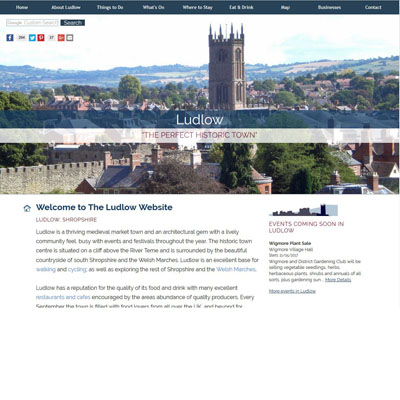 The Ludlow Website